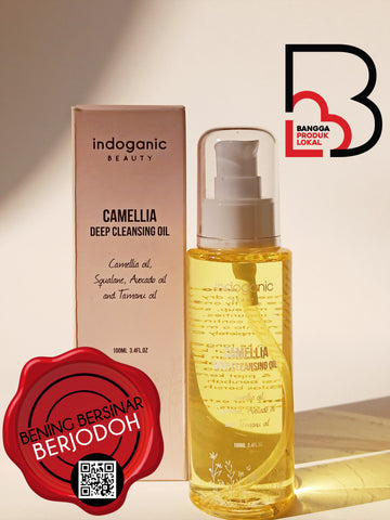 INDOGANIC BEAUTY Camellia Deep Cleansing Oil