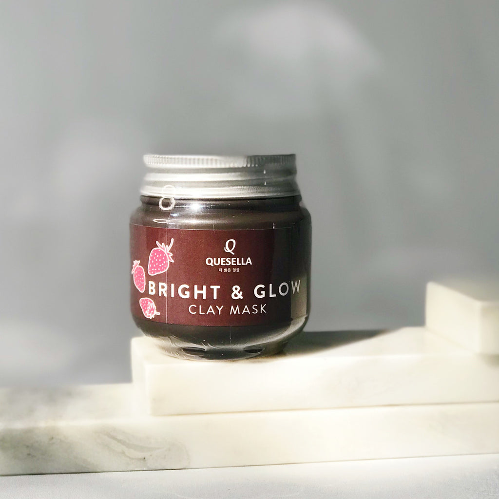 QUESELLA Bright & Glow Clay Mask