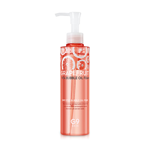 G9 SKIN Grapefruit Vita Bubble Oil Foam