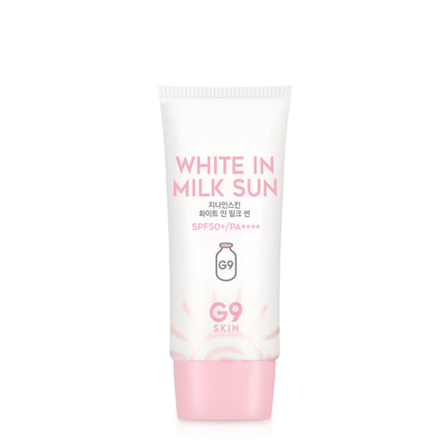 G9 SKIN White in Milk Sun SPF 50+ PA++++