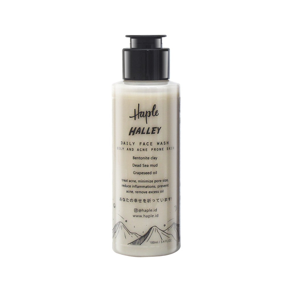 HAPLE Halley Face Wash - beningbersinar