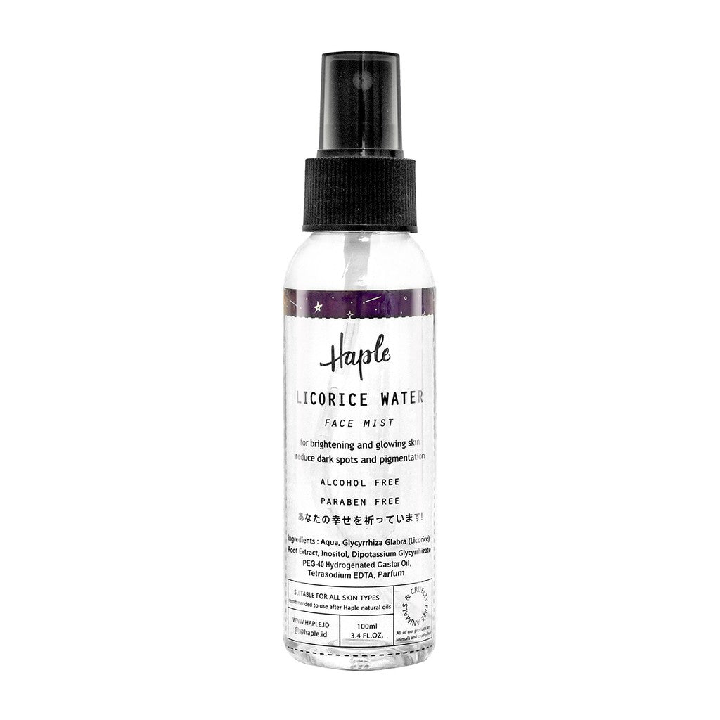 HAPLE Water Face Mist - beningbersinar