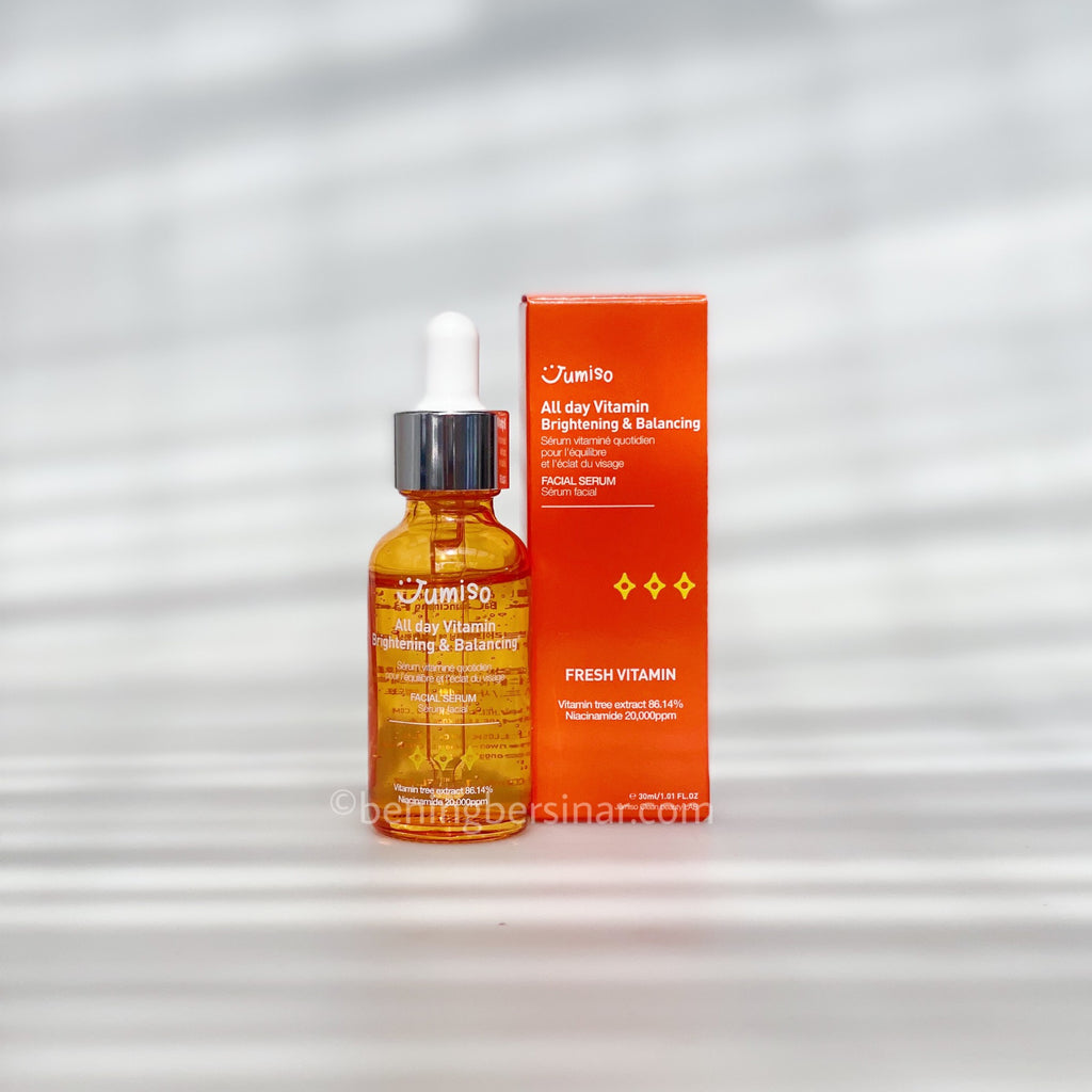 JUMISO Vitamin Brightening and Balancing Facial Serum - beningbersinar
