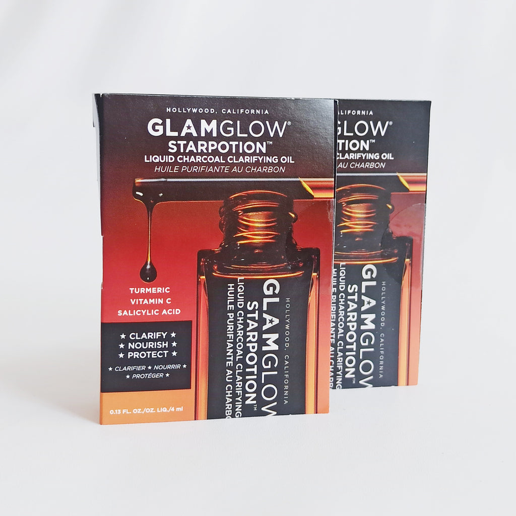 GLAMGLOW STARPOTION™ Liquid Charcoal Clarifying Oil - beningbersinar