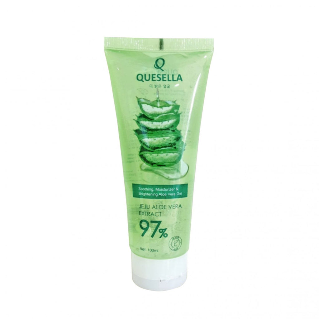 QUESELLA Soothing, Moisturizer & Brightening Aloe Vera Gel