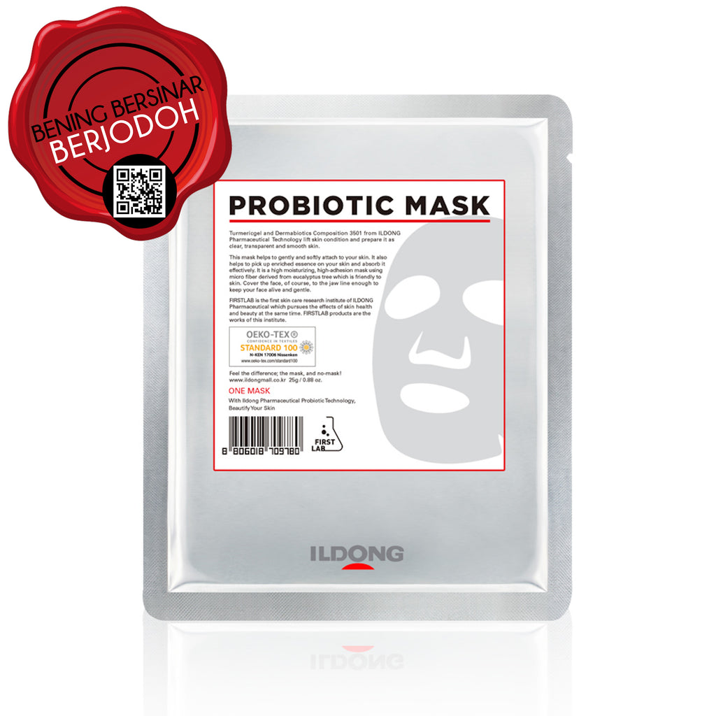 FIRST LAB Probiotic Mask - beningbersinar