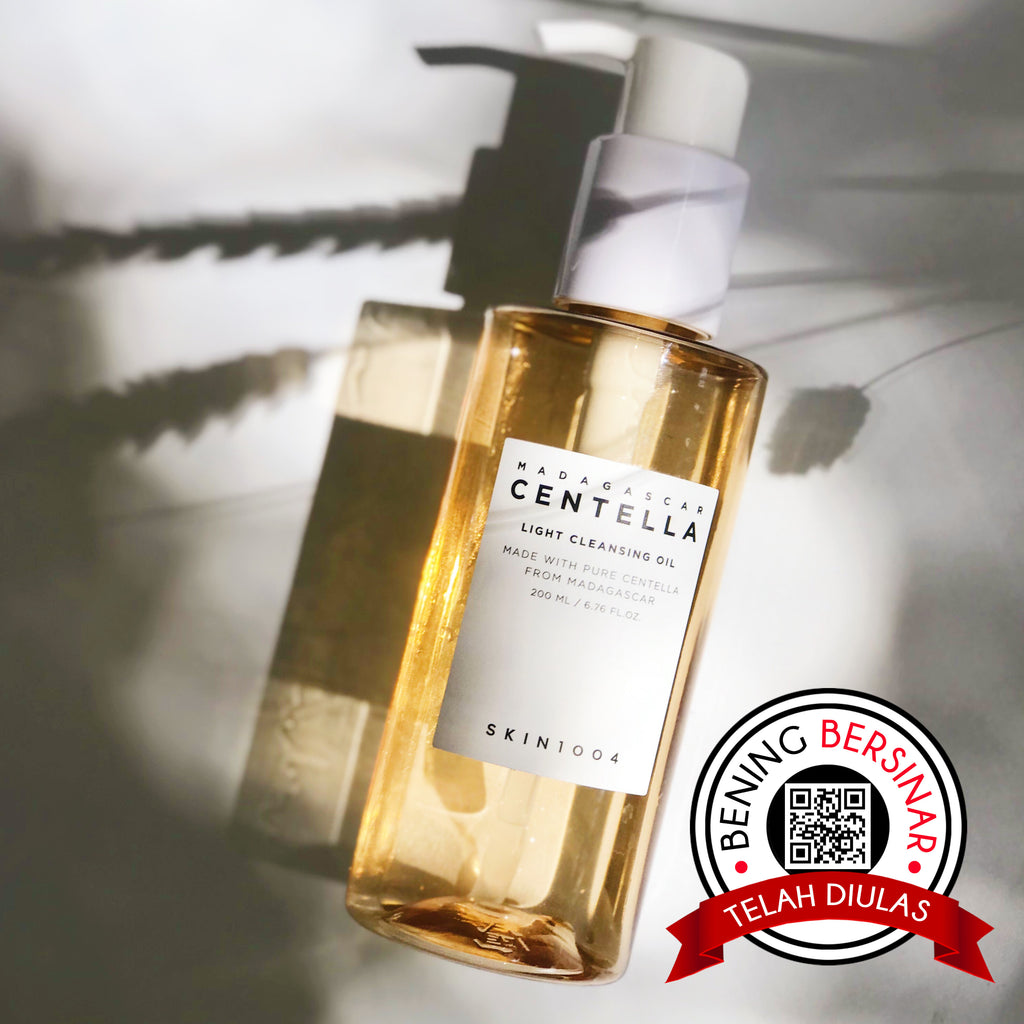 SKIN1004 Madagascar Centella Light Cleansing Oil - beningbersinar