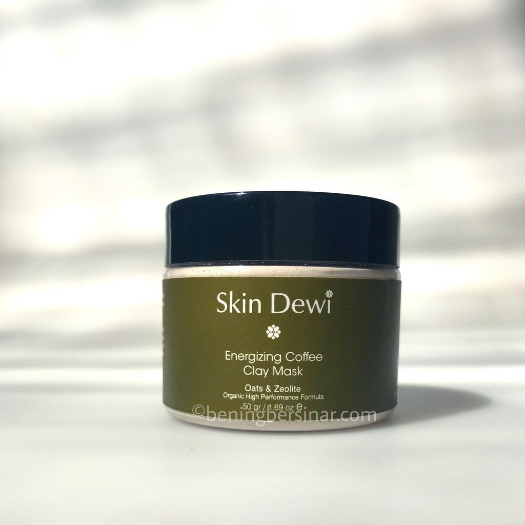 Skin Dewi Energizing Coffee Clay Mask - beningbersinar