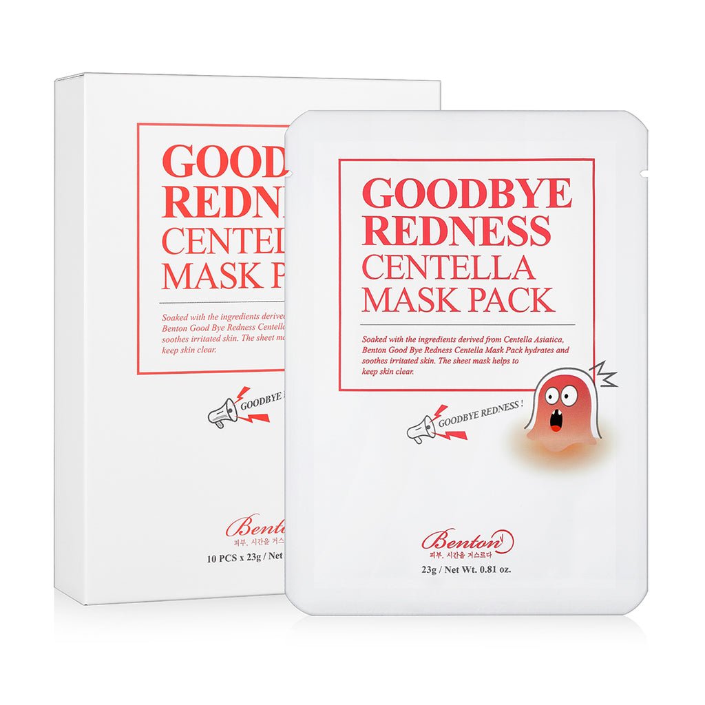 BENTON Goodbye Redness Centella Mask Pack - beningbersinar