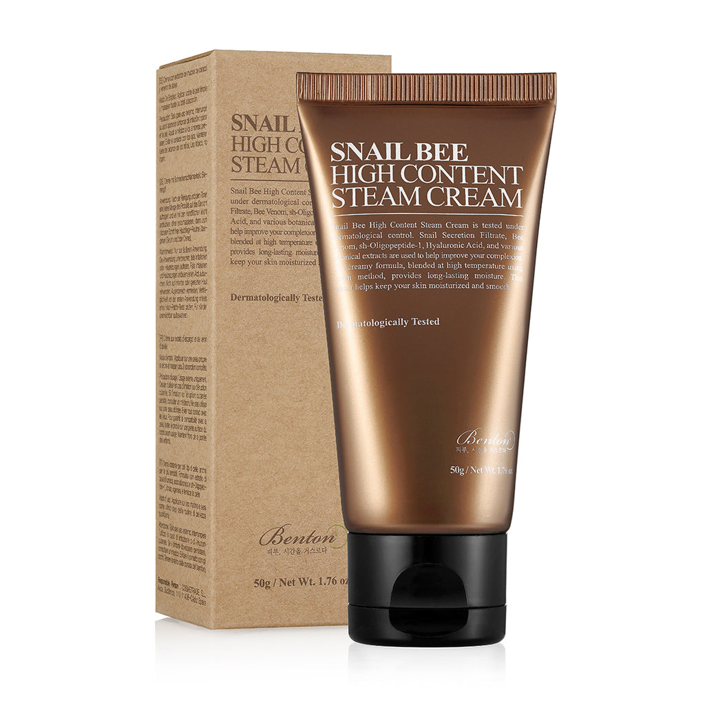 BENTON Snail Bee High Content Steam Cream - beningbersinar