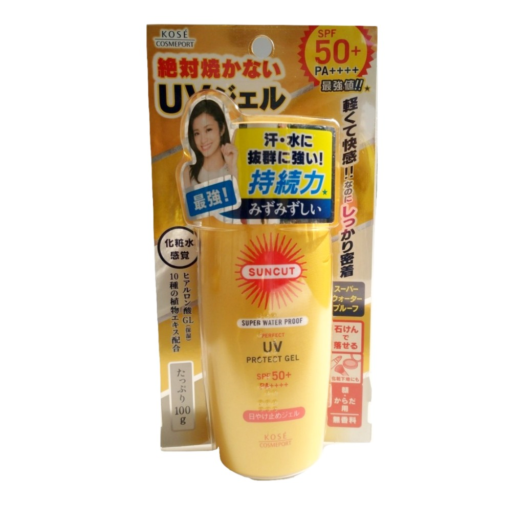 Kose Suncut Super Waterproof UV Sun Gel SPF 50+ PA++++
