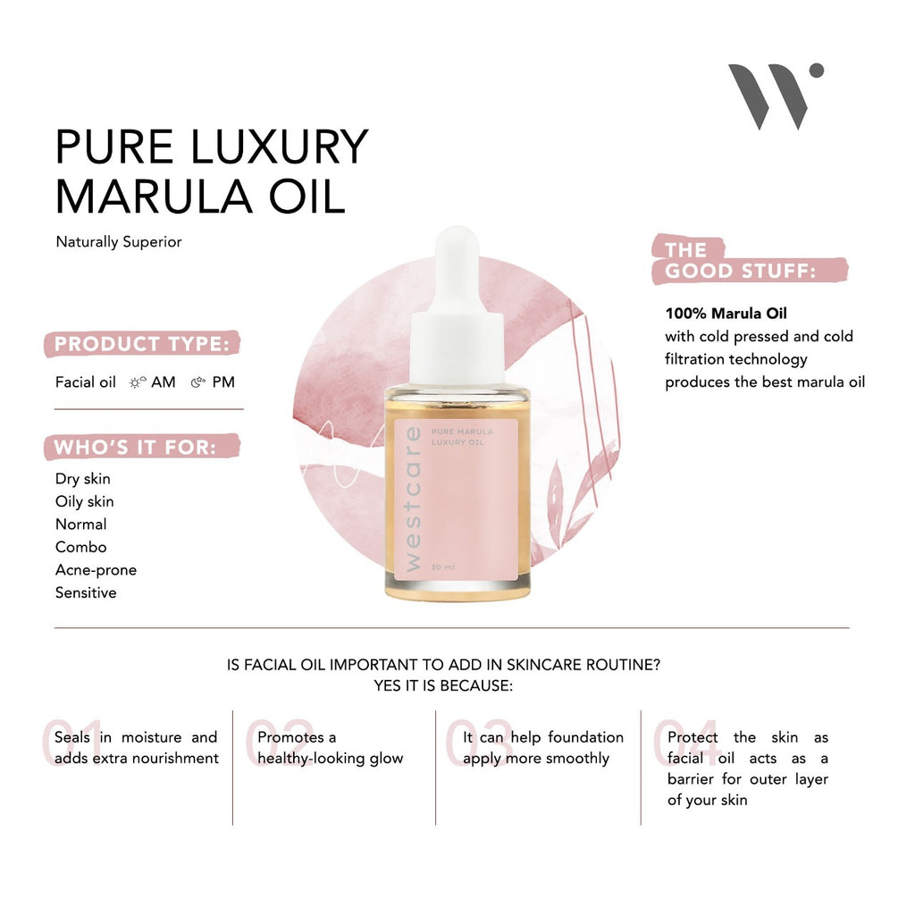 WESTCARE Pure Marula Luxury Oil