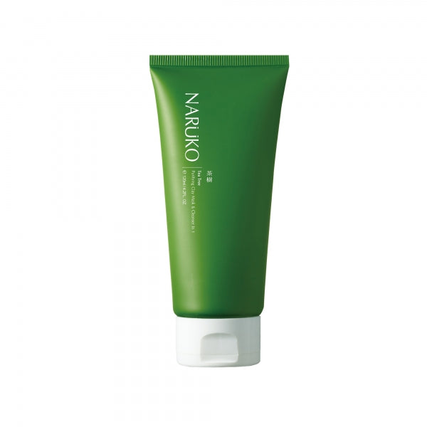 NARUKO Tea Tree Purifying Clay Mask & Cleanser In 1 - beningbersinar