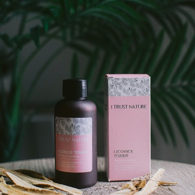I TRUST NATURE Licorice Toner - beningbersinar