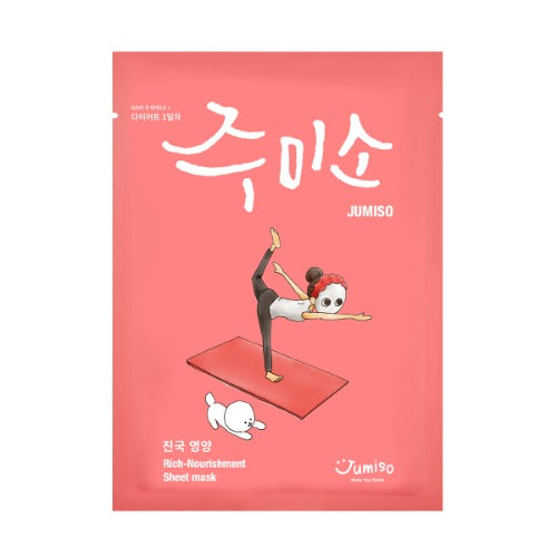 JUMISO Rich-Nourishment Sheet Mask - beningbersinar