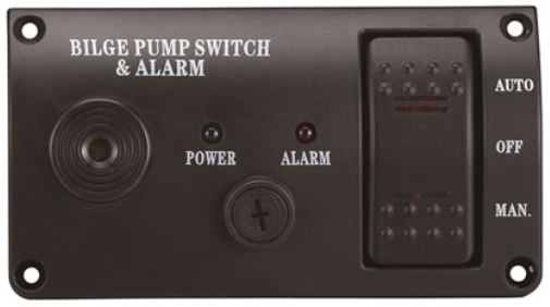 Bilge Pump Switch Auto Manual plus Alarm