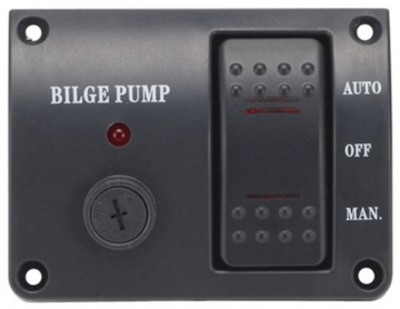 Bilge Pump Switch Auto Manual 12V