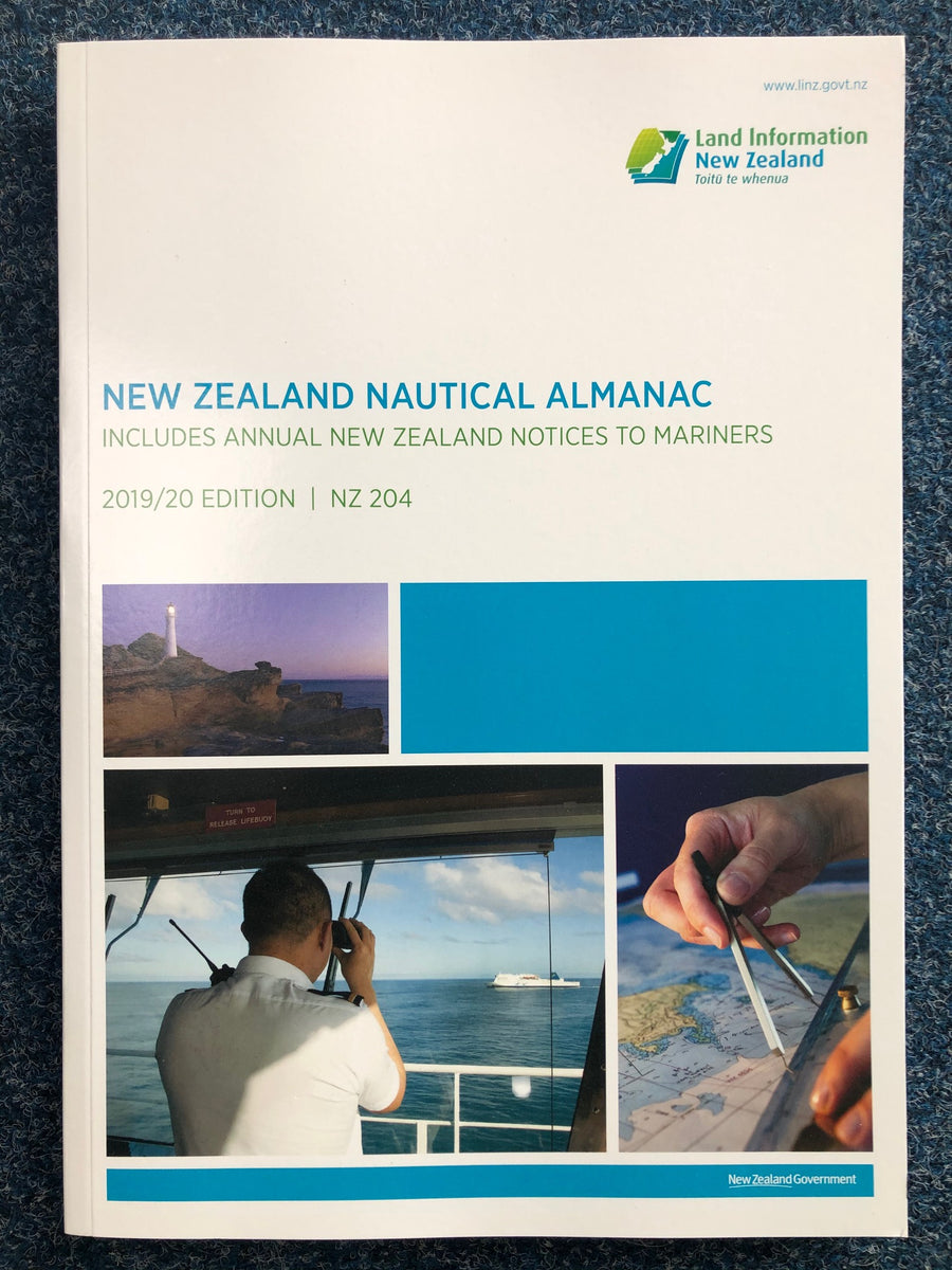 New Zealand Nautical Almanac 2020/21