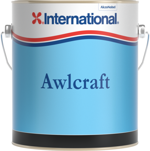 International Awlcraft Antifouling 4ltr Black