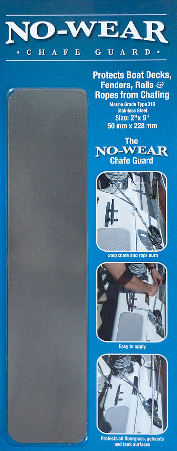 No-Wear Chafe Guard 316 SS - Twin pack