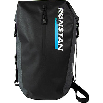 Ronstan Dry Roll-Top 30L Backpack, Black & Grey RF4013