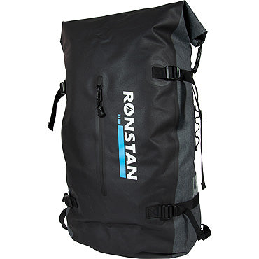 Ronstan Dry Roll-Top 55L Backpack, Black & Grey RF4014
