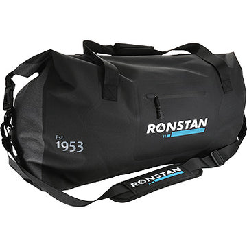 Ronstan Dry Roll-Top 55L Crew Bag, Black & Grey RF4015