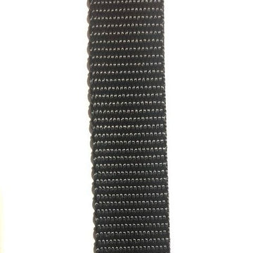 Webbing - 25mm Medium Black