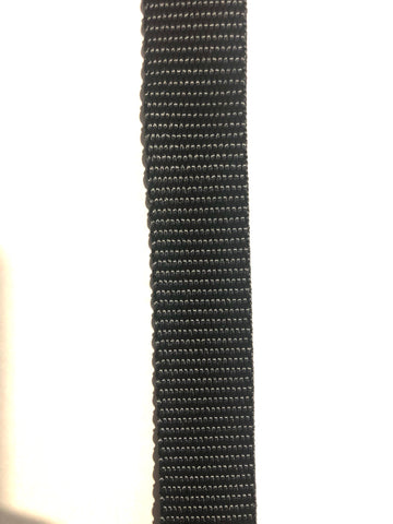 Webbing - 20mm Medium Black