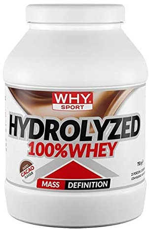 PROTEINE WHEY HYDROLIZED WHY SPORT  750 g - NUTRITION STORE ROMA