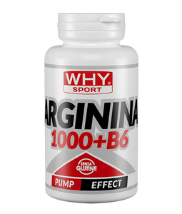 ARGININA 1000+B6 100 cpr WHY SPORT - NUTRITION STORE ROMA