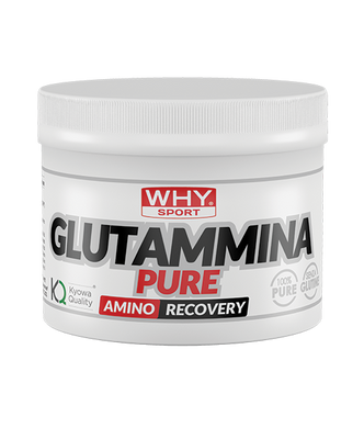 GLUTAMMINA PURE 250 g WHY SPORT - NUTRITION STORE ROMA