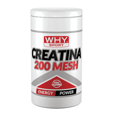 CREATINA 200 MESH WHY SPORT 500 g - NUTRITION STORE ROMA