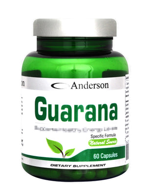 GUARANA' 60caps ANDERSON - NUTRITION STORE ROMA