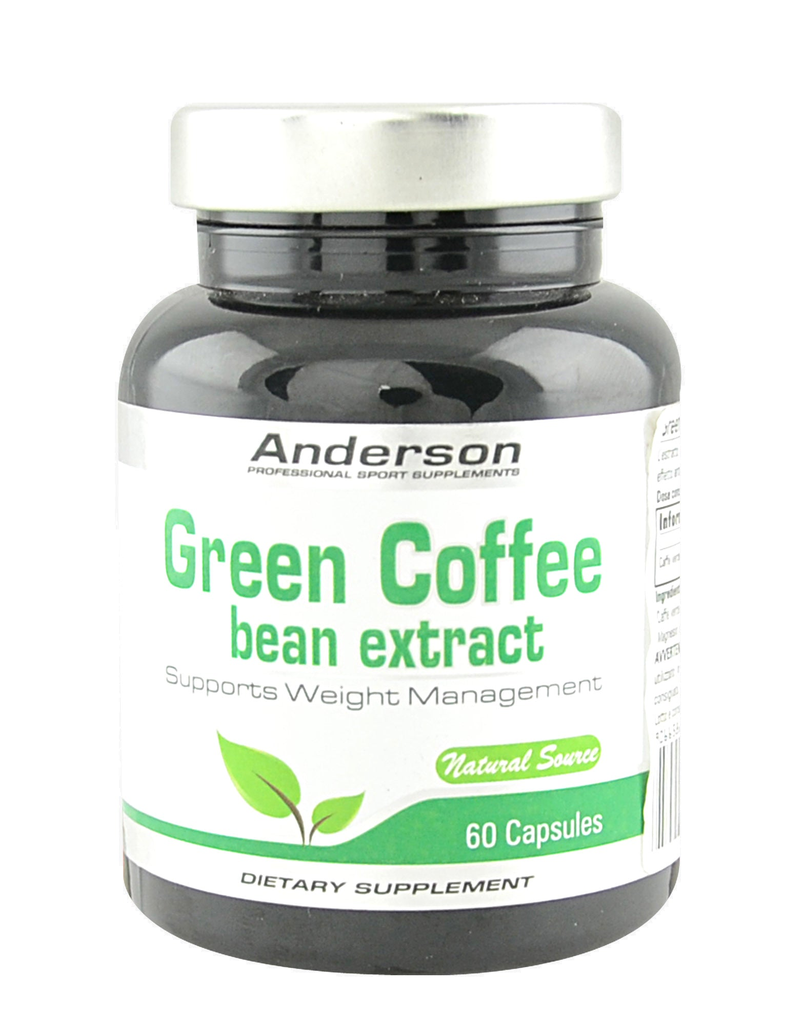 GREEN COFFEE 60 caps ANDERSON - NUTRITION STORE ROMA