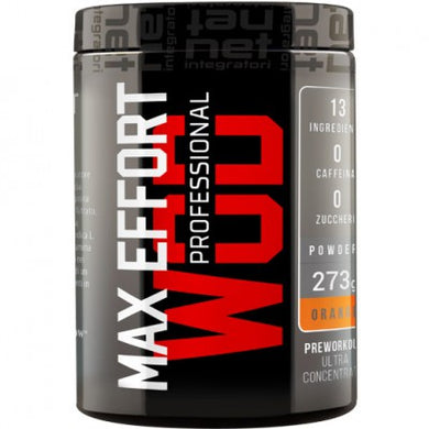 MAX EFFORT WOD PROFESSIONAL 273 g NET INTEGRATORI - NUTRITION STORE ROMA