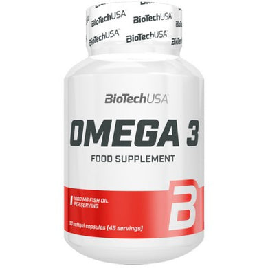OMEGA 3 90 SOFTGELS BIOTECHUSA - NUTRITION STORE ROMA