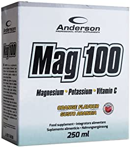 MAG 100 250 ml 10 fiale ANDERSON - NUTRITION STORE ROMA