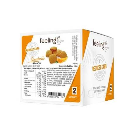 FEELING OK QUADRELLI STAGE 2 3X50 g - NUTRITION STORE ROMA