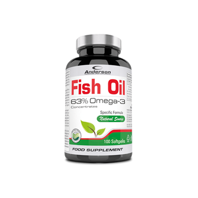 FISH OIL 100 softgels ANDERSON - NUTRITION STORE ROMA