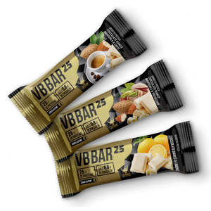 VB BAR 25 BOX DA 24 BARRETTE DA 50 g-NET INTEGRATORI - NUTRITION STORE ROMA