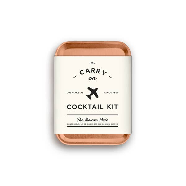 The Moscow Mule Carry-On Cocktail Kit