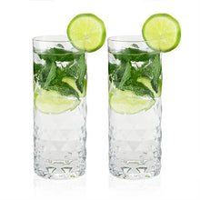Load image into Gallery viewer, Raye: Gem Crystal Highball Glasses (Set of 2)