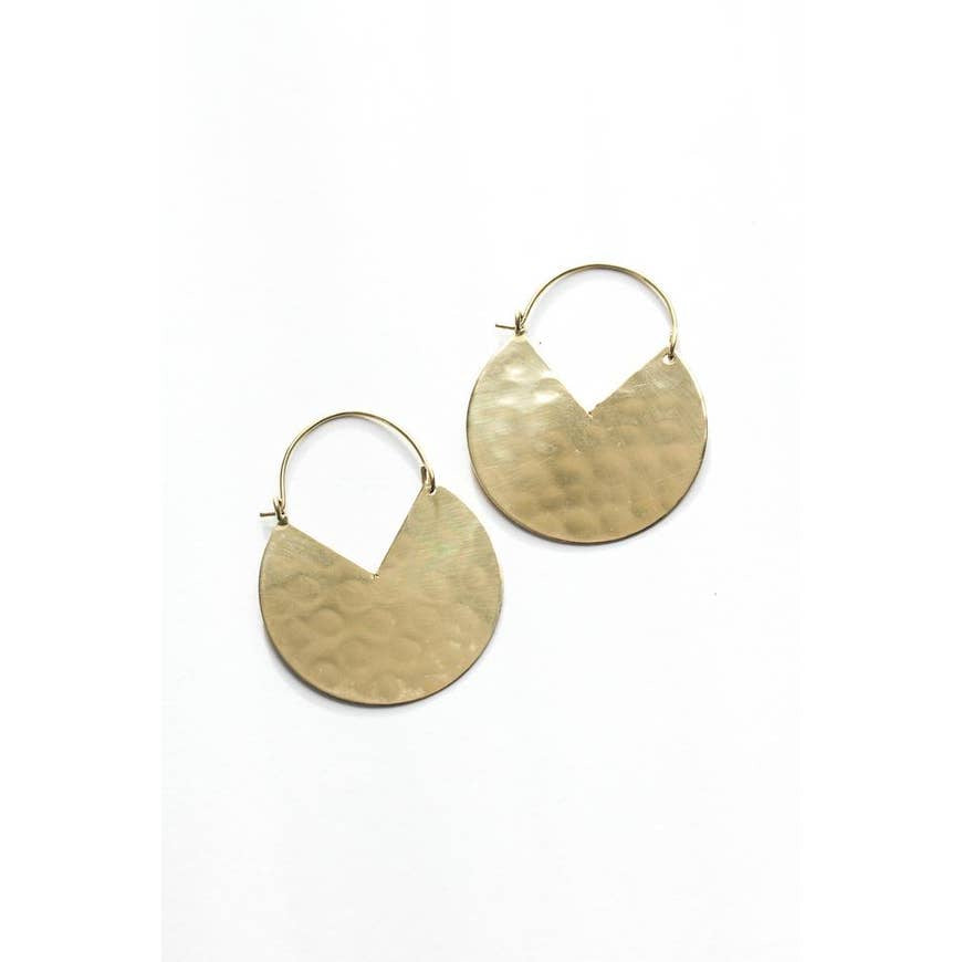 Pacman Hoops Earrings