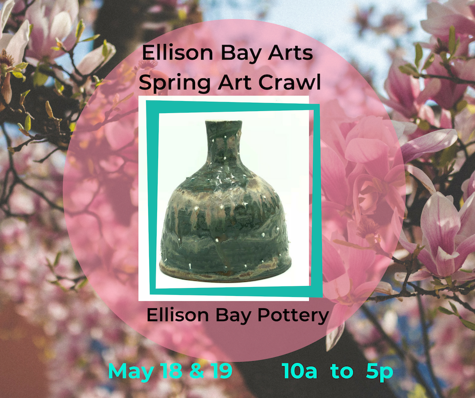 It's another Ellison Bay Arts 'Spring Art Crawl' ! May 18 and 19