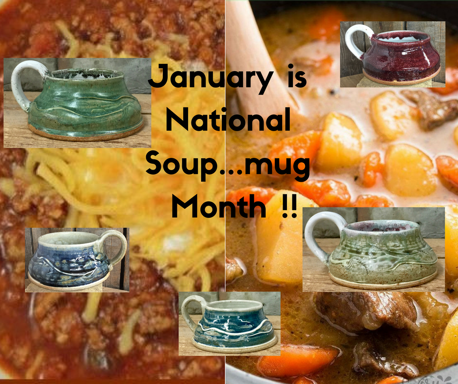 January is Soup (Mug) Month