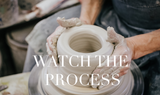 pottery making on the potters wheel