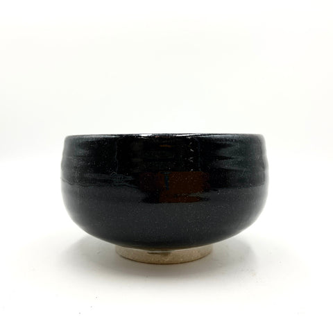 Handmade Pottery Cereal Bowl -Shige Black
