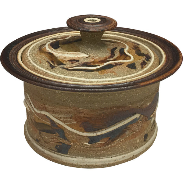 Handmade Pottery Small Baking Dish - Niagara Cliffs