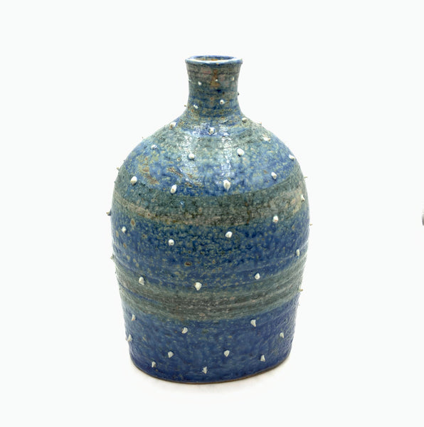 Handthrown Pottery Vase 'Spruce Green'